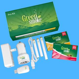 Green Smoke Pro Kit
